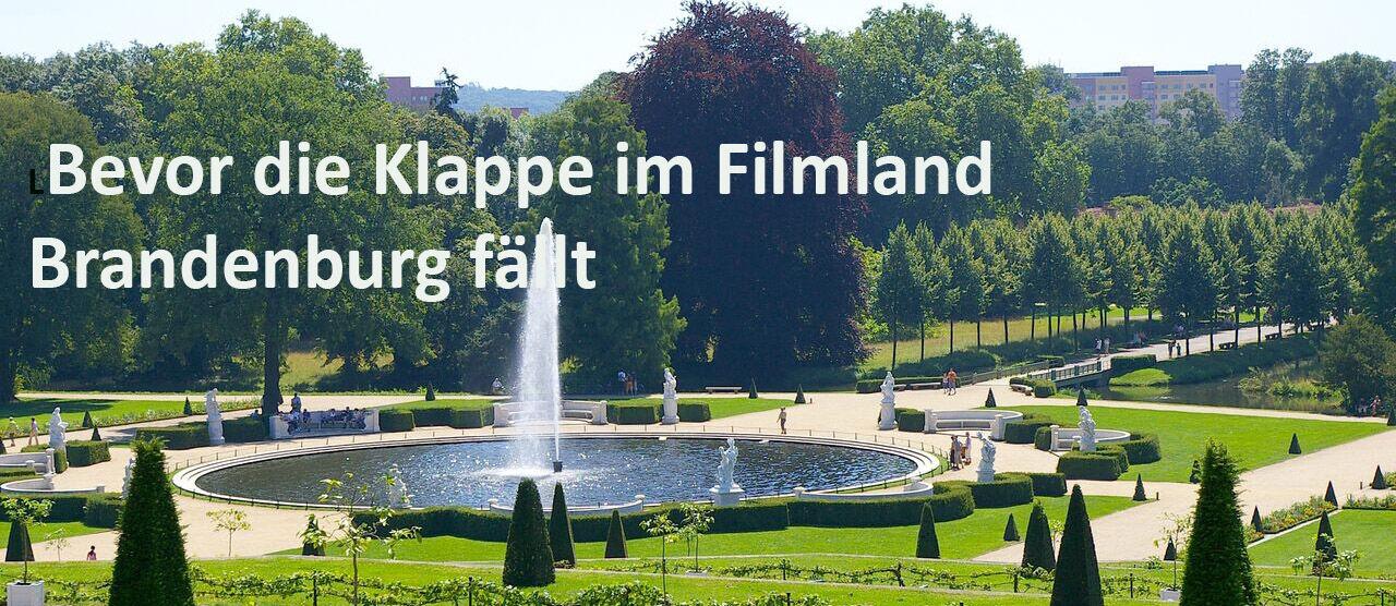 Image for Bevor die Klappe im Filmland Brandenburg fällt
