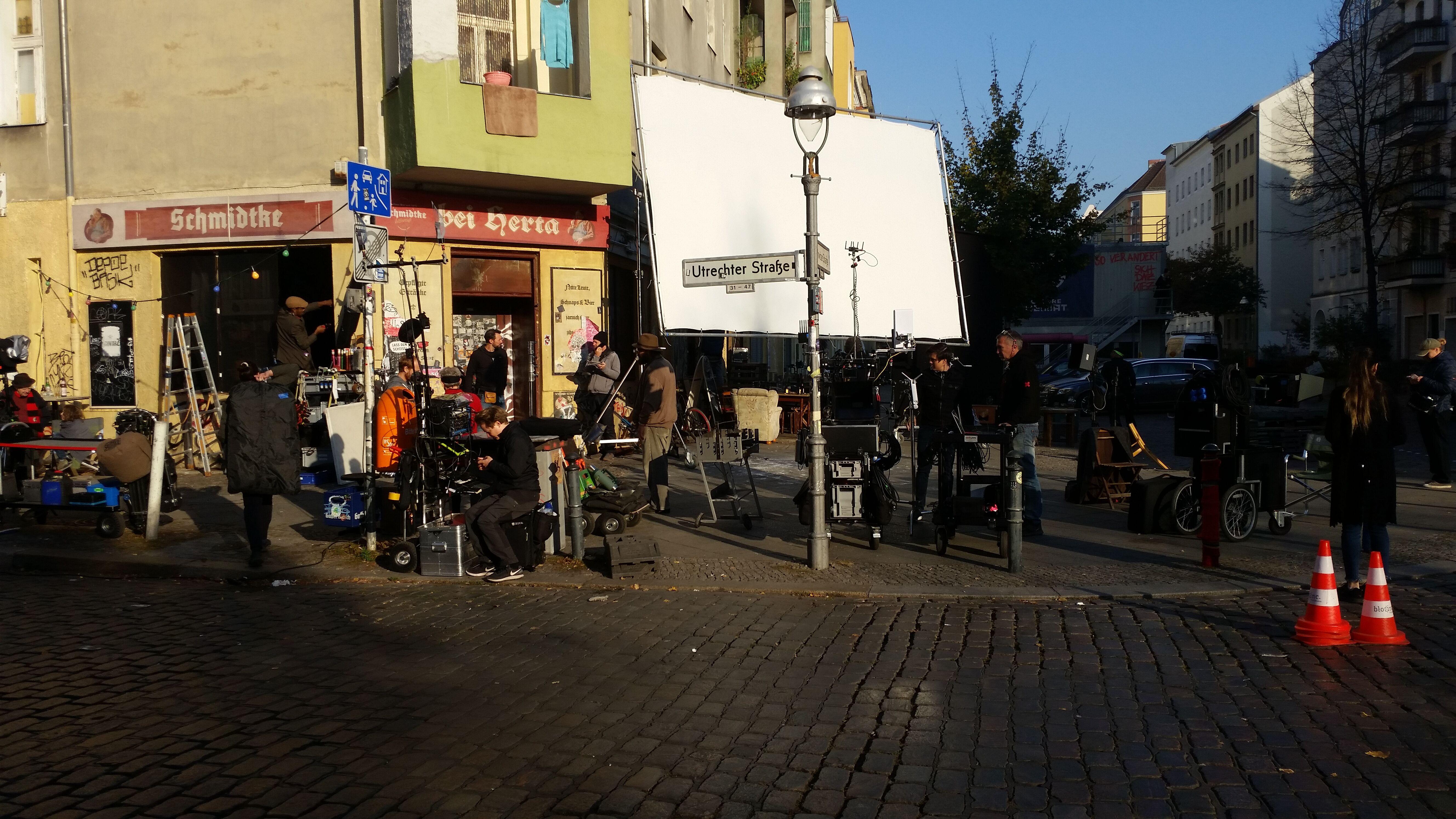 Image for Dreharbeiten in Mitte - bitte beachten!