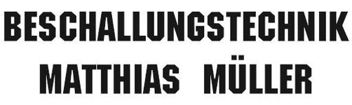 Beschallungstechnik Matthias Müller