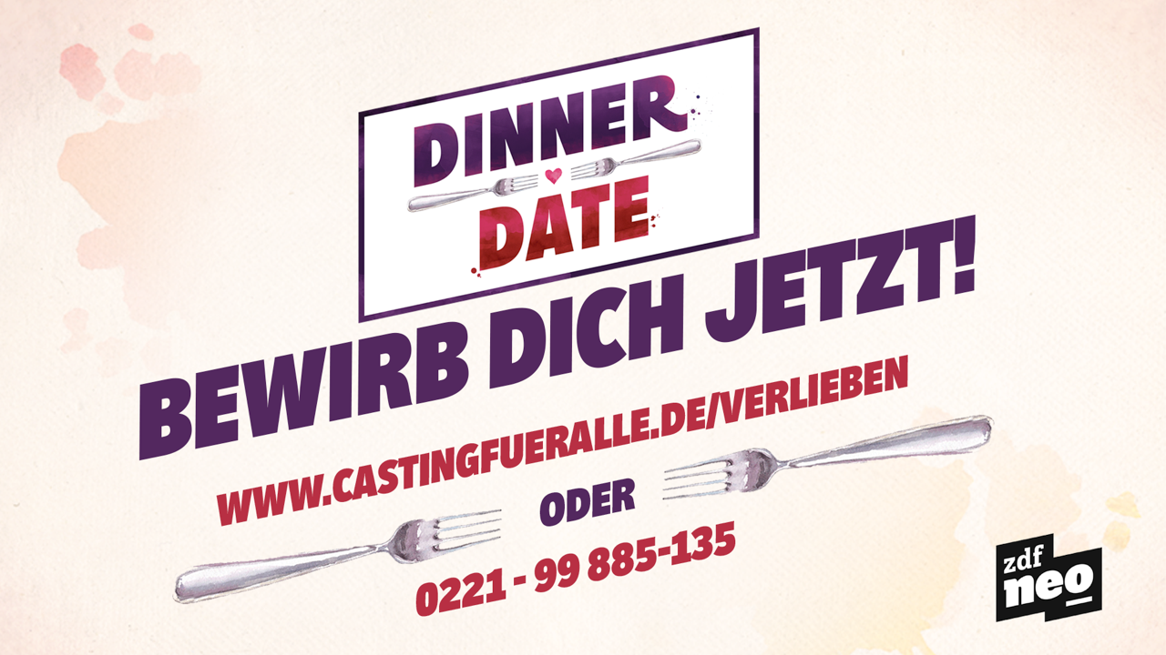 Image for SINGLE? APPETIT? LUST AUF DINNER & DATE