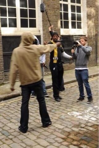 © On film set of streets chronicles I play a lead role