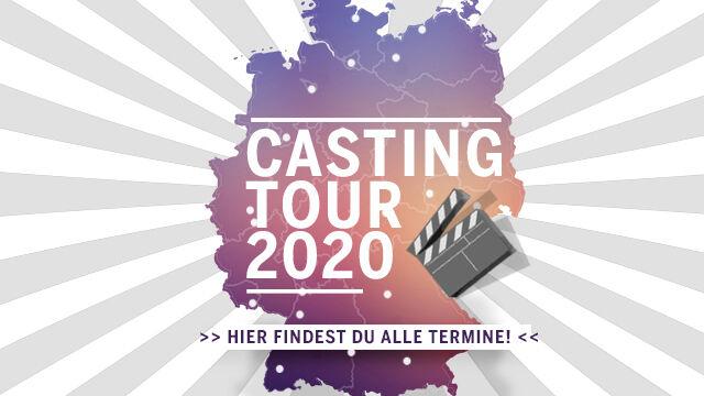 Image for Wiederaufnahme der Live-Casting-Tour 2020