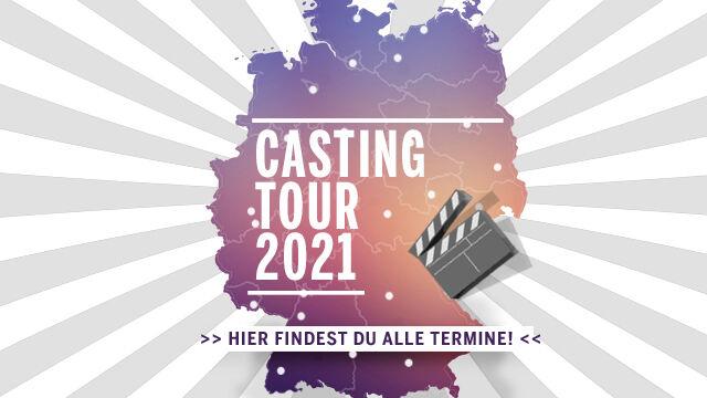 Image for LIVE-CASTING-TOUR - UFA Talentbase - Termine 2021